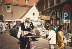 כפר הדייגים פולנדם, בעת צילומים לקומדיה הולנדית