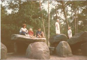 הסלעים היחידים בהולנד. אמן, דרום הולנד.