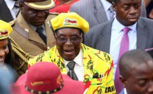 נשיא זימבבואה, רוברט מוגאבה. צילום: AP