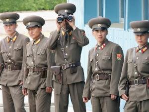 חיילים מצפון קוריאה. צילום AP