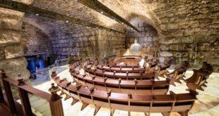 בית הכנסת שערי תשובה במנהרות הכותל