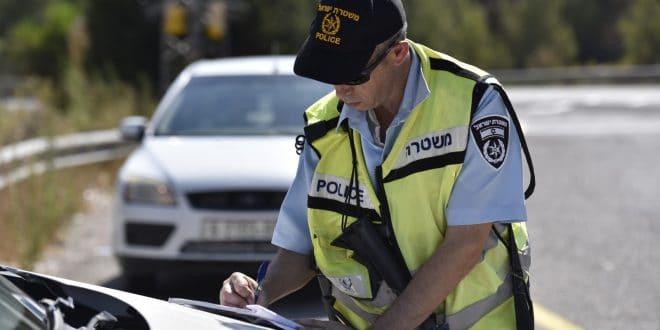 """משטרת ישראל אוכפת תנועה: קרוב לאלף דוחות נרשמו בכבישי יו""""ש"""