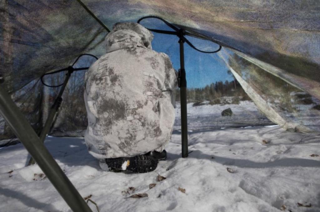 חייל בהסוואה. צילום חברת פיברוטס