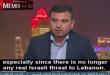 """עיתונאי לבנוני: """"ישראל היא מלאך חיזבאללה הוא שטן"""""""