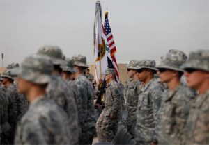 חיילים אמריקנים בבגדד.  צילום   AP