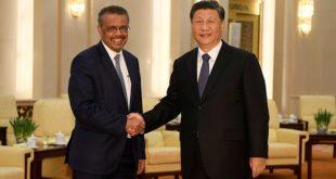 נשיא סין וראש ארגון הבריאות העולמי