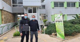 יעקב יג'נו ויעקב טומרקין באדיבות מכון וינגייט