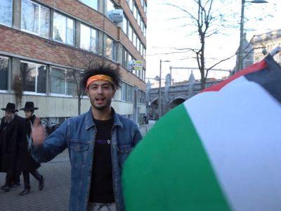 תאומים פלסטינים מעזה מטרילים חרדים באנטוורפן