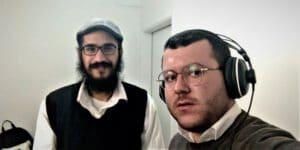 שמואל קרייתי ומאיר אוליאל צילום: ישראל ניוז