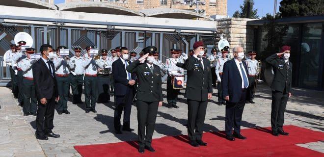 טקס חיילים מצטיינים: לתפארת מדינת ישראל