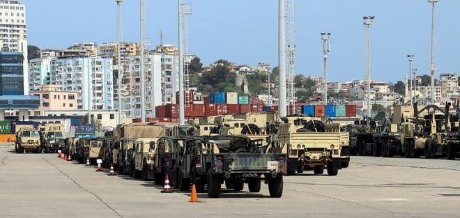כוחות אמריקאים מתאמנים באירופה בתרגיל צבאי ענק